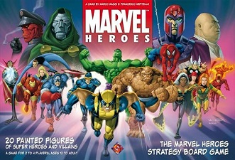 Marvel Hereos Board Game
