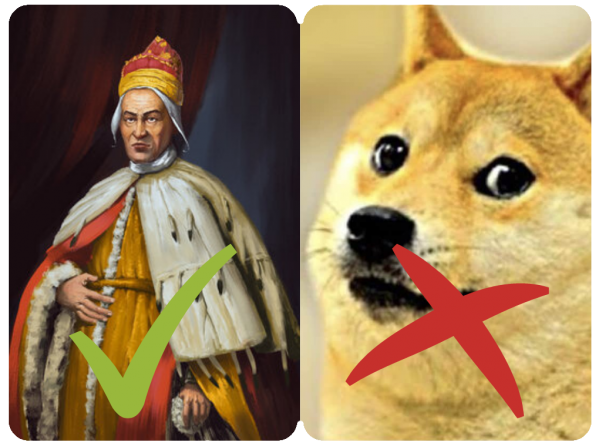 doges meme comparison