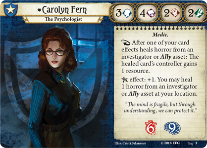 Carolyn Fern Investigator Card