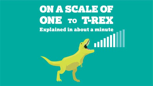 On a Scale of One to TRex