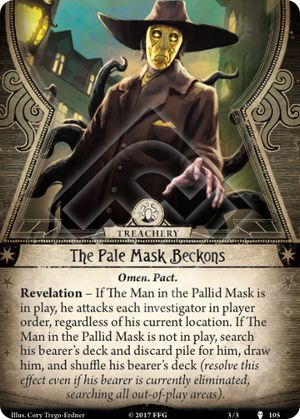 The Pale Mask Beckons