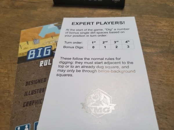 Big Dig Board Game
