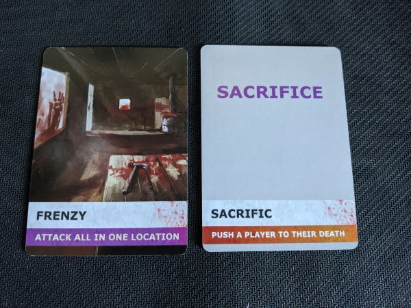 Frenzy & Sacrifice Special Cards