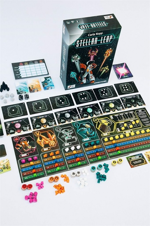 Stellar Leap Board Game