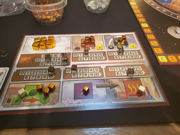 Terraforming Mars boards
