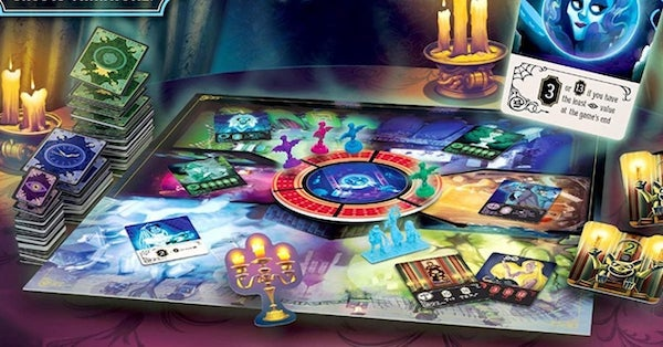 the haunted mansion funko board game