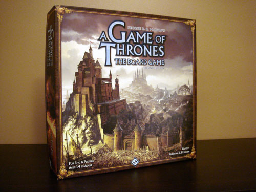 a game of thrones board game second edition review