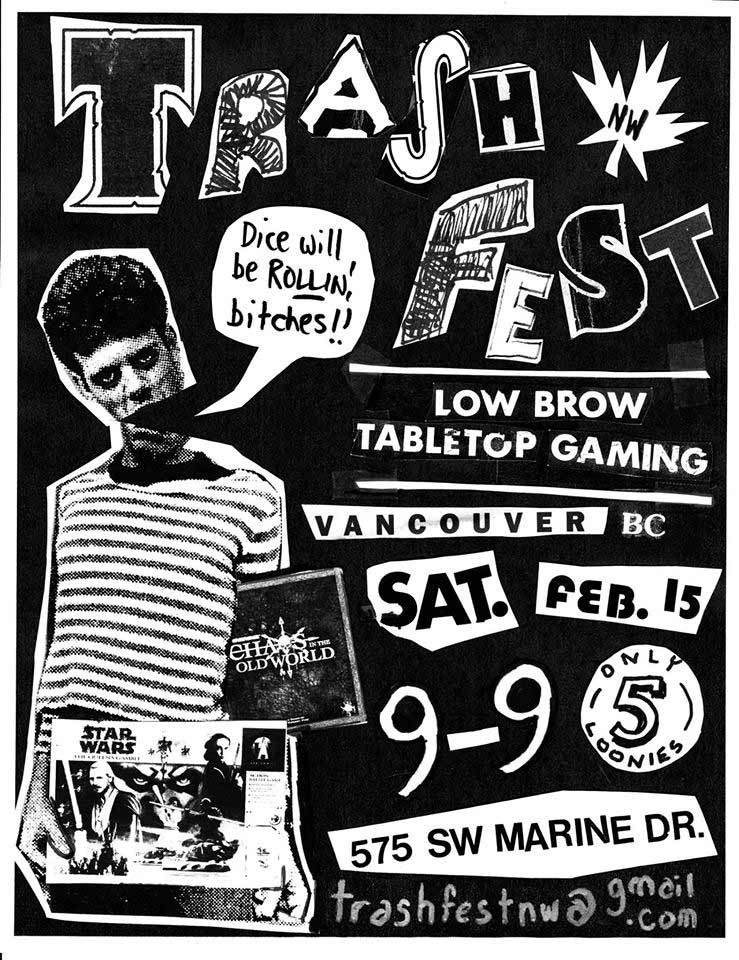 Trasfest NW poster