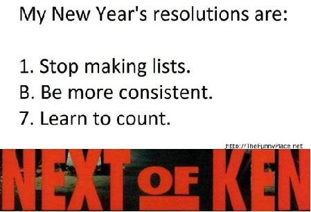 Next of Ken, Volume 80:  You Say You Want a Resolution, Well, You Know