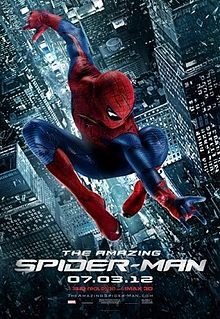 The Amazing Spider-Man theatrical poster