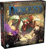 Descent: Journeys In The Dark 2nd Edition: Labyrinth of Ruin Expansion - In Stores Now