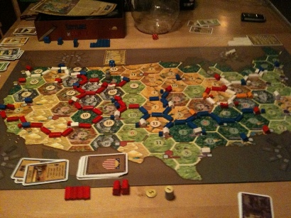 Settlers of America . . . Quite the Teuber