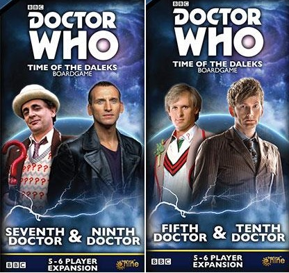 Doctor Who: Time of the Daleks Expansions