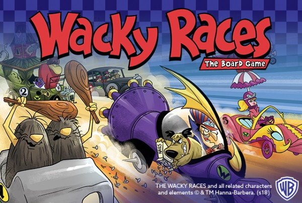 70a1481df96 Wacky Races Board Game - In Stores Soon - There Will Be Games