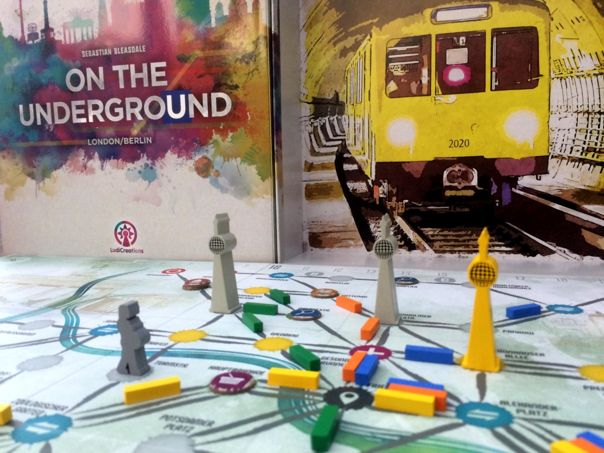 On the Underground London/Berlin (Saturday Review)