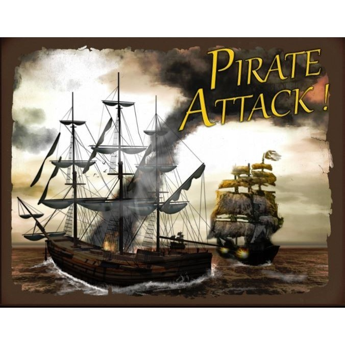 Rough Seas Ahead A Pirate Attack Board Game Review There Will Be Games