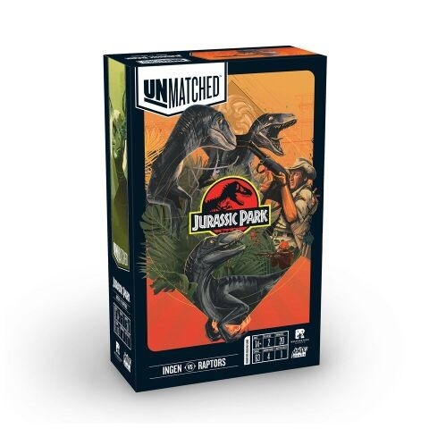 Mondo Games and Restoration Games are Bringing Jurassic Park to Unmatched