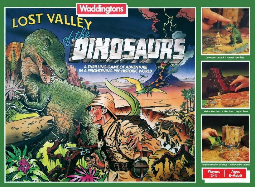 Lost Valley of the Dinosaurs (1985)