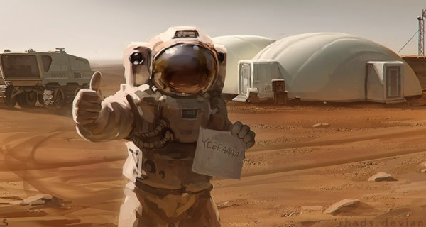 The Martian - Barney's Incorrect Five Second Reviews