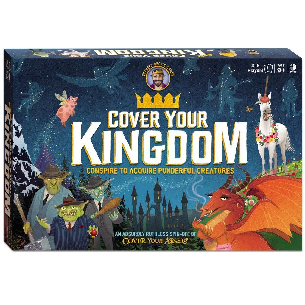 Cover Your Kingdom Board Game