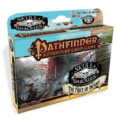 Pathfinder Adventure Card Game: The Price of Infamy - Skull & Shackles Adventure Deck 5