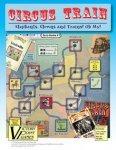Circus Train board game