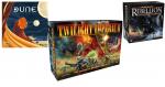 Dune, Twilight Imperium & Star Wars: Rebellion Giveaway