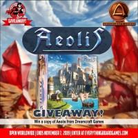 Aeolis Board Game Giveaway