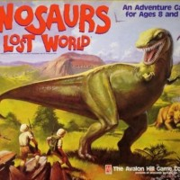 Dinosaurs of the Lost World Board Game
