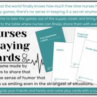 Nurses Playing Cards Kickstarter