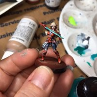 Painting Miniatures