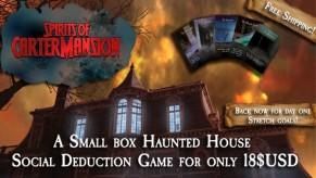 Spirits of Carter-Mansion Kickstarter