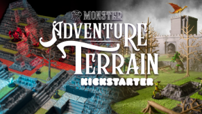 KICKSTARTER - Monster Adventure Terrain: Affordable & Modular 3D World Builder