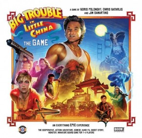 Big Trouble in Little China Boardgame review