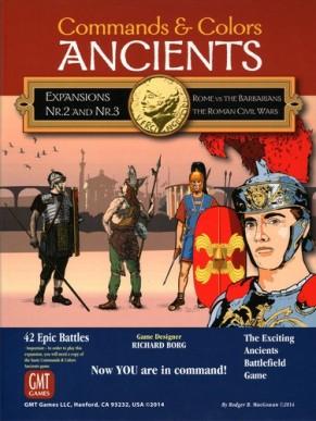 Commands & Colors: Ancients Expansions 2 & 3 Review