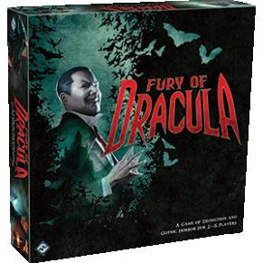 Fury of Dracula 3rd Edition