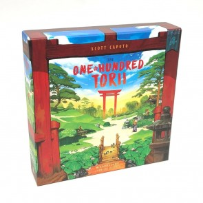 I would walk through fifty torii, and I would walk through fifty more... A One Hundred Torii Board Game Review