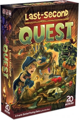 Last-Second Quest Board Game