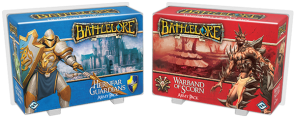 Battlelore: Hernfar Guardians and Warband of Scorn Army Pack Expansions