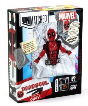 Unmatched: Deadpool Solo Expansion Announced
