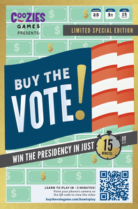 New Election Board Game of 2020: Buy the Vote! by Coozies Games