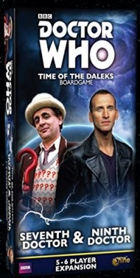 Doctor Who: Time of the Daleks Release Dates for Four Expansions