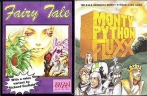 Trashie Two-Fer Reviews:  Monty Python Fluxx and Fairy Tale