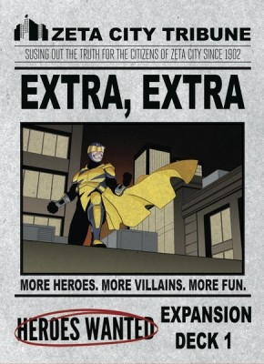Heroes Wanted! Extra Extra