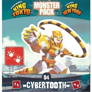 King of Tokyo: Monster Pack - Cybertooth Expansion
