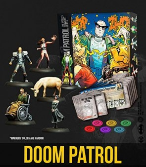 Batman Miniatures Game Doom Patrol