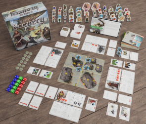 A Tale of Bravery - An adventure board game for 1-4 players
