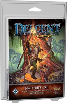 Descent Journeys in the Dark 2nd Edition: Natures Ire Expansion