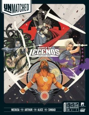 Unmatched battle of legends board game