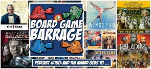 And the Award Goes To ... - board Game Barrage